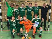 Futsal: Junge Burschen ohne Nerven