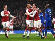 Premier League: Aubameyang trifft bei Arsenals 5:1-Sieg - Wagner in Not