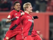 DFB-Pokal-Halbfinaleinzug: Brandt schwärmt vom neuen Bayer-Spirit und Trainer Herrlich
