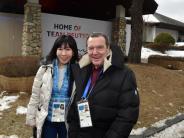 Zu Gast in Pyeongchang: Altkanzler Schröder für Olympia-Bewerbung mit Berlin
