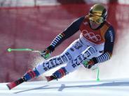 Alpine Kombination: Dreßen Neunter - Hirscher Olympiasieger