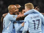 Champions League: Manchester City auf Kurs - Juve muss nach 2:2 zittern