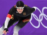 Olympische Winterspiele 2018: Eisschnellläuferin Pechstein startet auf Paradestrecke