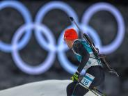 Olympia in Pyeongchang: Nur Biathlon-Männer am Sonntag mit deutscher Medaillenchance
