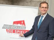 Olympische Spiele: Berlins Bürgermeister Müller offen für Olympia-Bewerbung