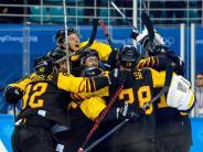 Olympia 2018: Deutschland im Halbfinale: Das Eishockey-Wunder von Südkorea