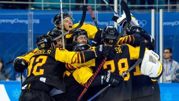 Deutsche Eishockey-Asse freuen sich auf Schweden