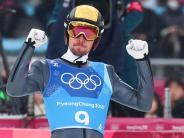 Zweite nach dem Springen: Deutsche Kombinierer im Team mit Gold-Chancen