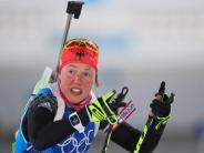 Olympia: Deutsche Biathletinnen erleben Debakel bei der Staffel