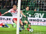 Bundesliga: Glücklicher Sieg:Werder bezwingt den HSV mit 1:0