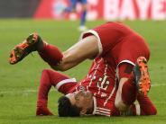 FC Bayern: Kein Tor, kein Rekord: Verkehrte Welt für Robert Lewandowski