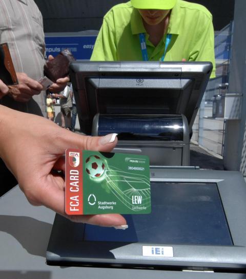 Stadion-Bezahlkarten nicht mehr nutzbar