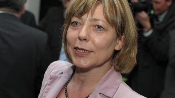 Daniela Schadt, die Lebensgefährtin von Joachim Gauck. Foto: David Ebener dpa - Daniela-Schadt-die-Lebensgefaehrtin-von-Joachim-Gauck