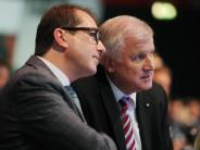 CSU: Dobrindt: Seehofer soll Spitzenkandidat bei Bundestagswahl 2017 sein