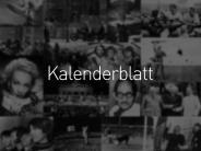 Was geschah am ...: Kalenderblatt 2017: 6. November