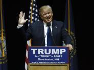 US-Vorwahlen: Trump und Sanders gewinnen die Vorwahlen in New Hampshire