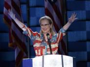 Wahlen: Weibliche US-Stars machen für Clinton stark