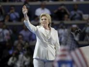 US-Wahl 2016: Hillary Clinton ist nun offizielle Präsidentschaftskandidatin