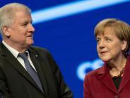 Union: Merkels Kanzlerkandidatur von Seehofers Gnaden?
