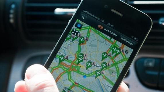 Am steuer auch das navi auf dem smartphone ist beim fahren tabu