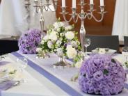 Immobilien: Tipps zur floralen Hochzeitsdekoration