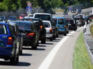 Ferienzeit und Reiseverkehr: Es staut sich auf den bayerischen Autobahnen