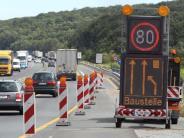 Stauprognose: Baustellen und Feste im Süden verhindern reibungslose Fahrt