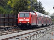 Fahrplanmäßig unterwegs: Läuft: Die Züge auf der Rheintalbahnstrecke verkehren wieder