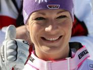 Ski alpin: Crans Montana: Höfl-Riesch Siebte im Abfahrtstraining