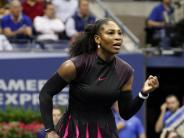 Tennis: Fingerzeig gegen Zweifler: Serena Williams ohne Schwäche
