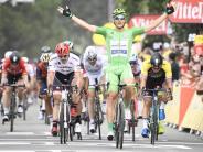 Radsport: Kittel gewinnt zehnte Etappe der Tour de France