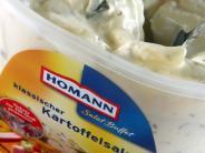 Kunststoffteilchen: Produktrückruf von Homann Feinkost: Diese zehn Salate sind betroffen