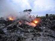 MH17: Ermittler: Flug MH17 mit russischer Rakete abgeschossen