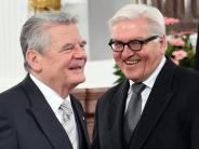 Gauck-Nachfolge: CDU will Frank-Walter Steinmeier als Bundespräsidenten