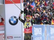 Biathlon: Nach ihrem dritten WM-Gold muss sich Laura Dahlmeier ausruhen
