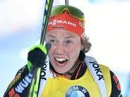 Biathlon: Perfekte Saison: Laura Dahlmeier gewinnt den Gesamtweltcup