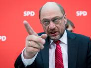 """Bundestagswahl 2017: """"Deutschlandtrend"""": Schulz weiter vorn, aber Merkel holt auf"""