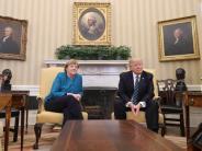 """Donald Trump: Trump über Merkel: """"Wir hatten eine unglaubliche Chemie"""""""
