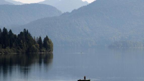 Walchensee: Fischer aus der Region Augsburg stirbt bei Angelausflug