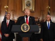 News-Blog: Donald Trump: USA wollen Zahlungsfähigkeit zunächst nur für eine Woche retten