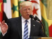 Saudi-Arabien: Trump sucht Allianz mit Muslimen: Gemeinsam gegen Terror und den Iran
