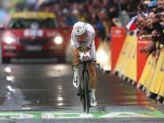 Tour de France: Martin im Zeitfahren nur Vierter - Geraint gewinnt