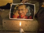 """China: Dissident Liu Xiaobo wünschte seiner Frau """"noch ein gutes Leben"""""""