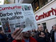 Pressefreiheit: «Cumhuriyet»-Prozess in Istanbul hat begonnen