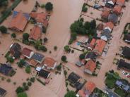 """Tief """"Alfred"""": Unwetter und Hochwasser: Teile Deutschlands überflutet"""