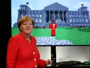 Gamescom 2017: Bundeskanzlerin Merkel eröffnet Gamescom in Köln