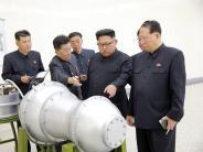 """Nordkorea: Trump nennt Kim Jong-un """"Raketenmann auf Selbstmordmission"""""""