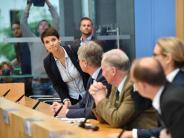 AfD: Eklat bei der AfD: Frauke Petry will nicht in die Bundestagsfraktion