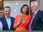 Bundestagswahl 2017: Sondierungsgespräch zwischen FDP und Grünen: Vorsichtiger Optimismus