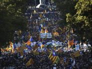 News-Blog: Katalonien: 400.000 Menschen demonstrieren gegen Neuwahlen